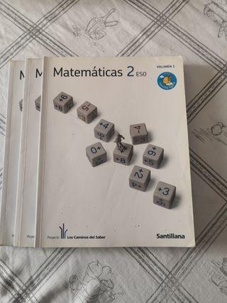 Matemáticas 2 ESO Proyecto Los Caminos del Saber)