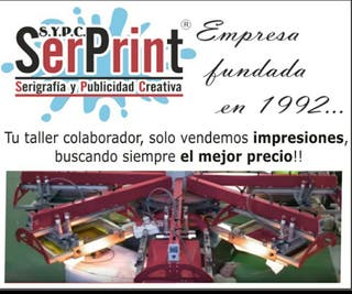 serigrafia industrial textil