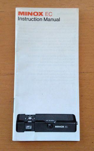 Manual de uso Cámara de fotos miniatura Minox EC