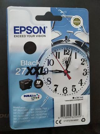 EPSON Black 27XXL color negro