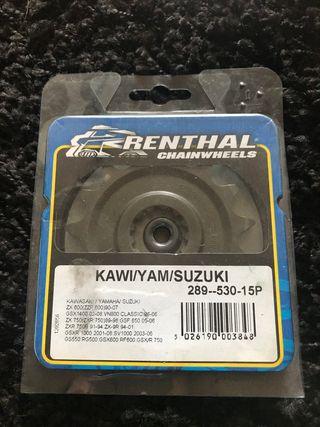 piñon renthal Kawasaki y Suzuki