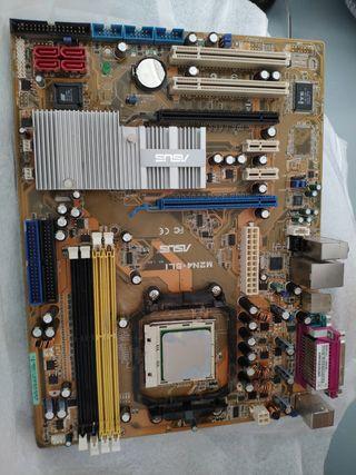 Placa bases Asus M2N4-SLI + procesador