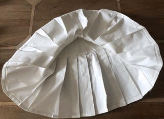 Mini jupe noire plissé tennis coton stretch T34-36