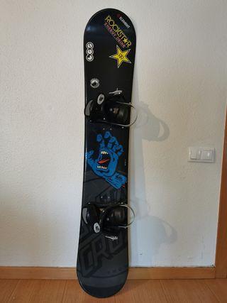 tabla + fijaciones snowboard