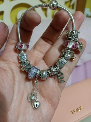 2 pulseras Pandora auténticas ediciones especiales