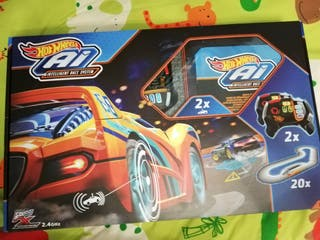 Pista hotwheels intelligent race system
