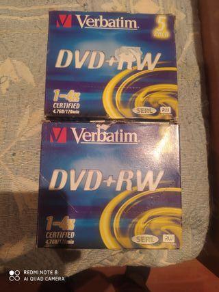 DVD regradable verbatin