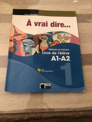Libro Francés 1 Bachillerato