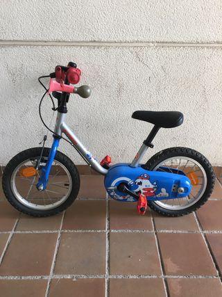 Bicicleta infantil B-Twin 14