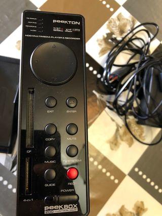 Disco duro 500 gb y Grabadora para TV