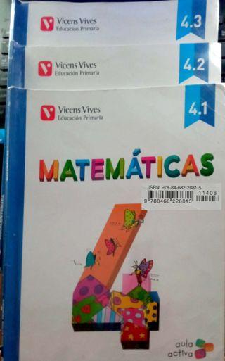 MATEMATICAS 4 PRIMARIA