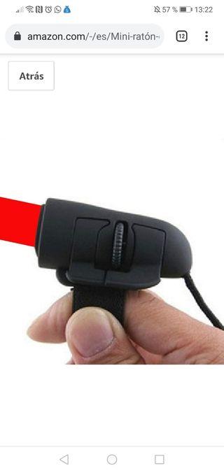 Mini ratón de dedo USB óptico