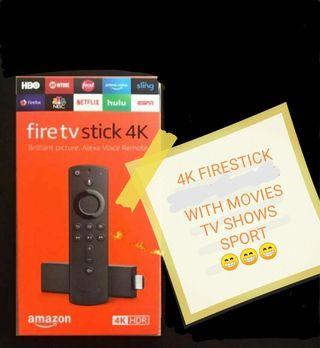 Amazon Firestick Fully Loaded 4K