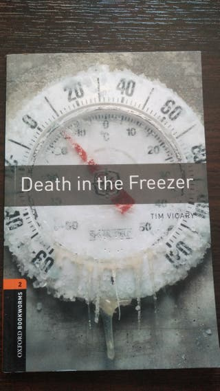 Death un the Freezer (libro de inglés)