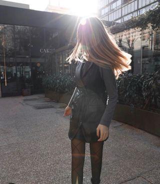 Chaleco vestido piel