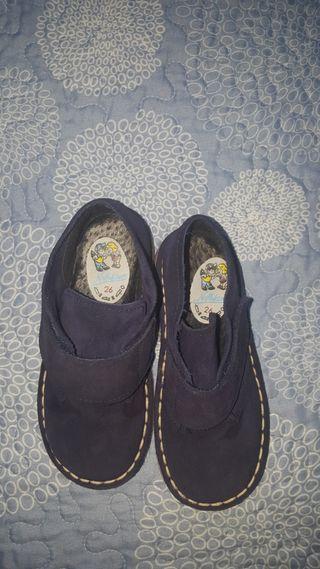 botas de paño sin estrenar