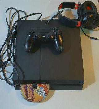 PS 4 500Go Noire