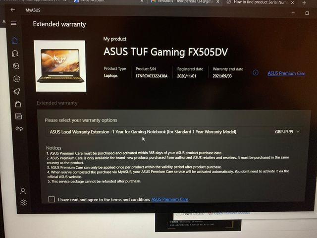 Asus TUF FX505DV RTX 2060 / Ryzen 7/ 16 GB