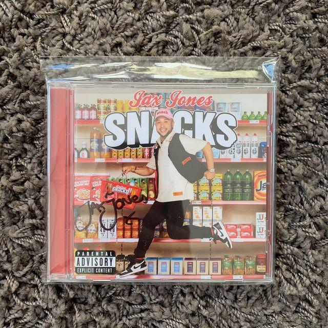 Jax Jones-Snacks ( CD edición firmada)