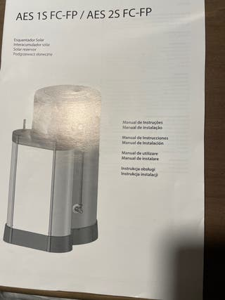Acumulador de agua 200l Ariston.