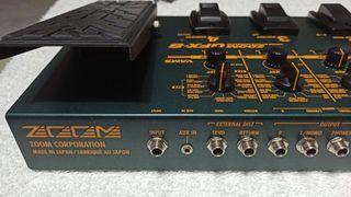 Pedalera NUEVA guitarra eléctrica GFX8 de Zoom