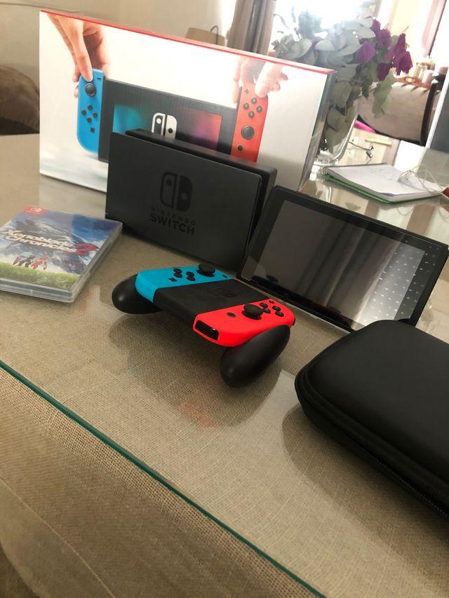 Nintendo Switch MUY COMPLETA