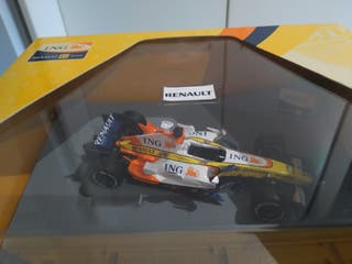 Maqueta, Renault de fórmula 1. 2.007