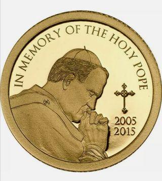 Moneda de oro 999