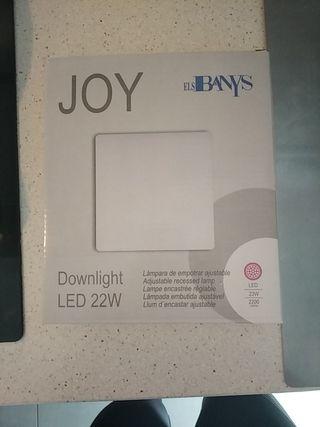 Lámpara LED de empotrar ajustable