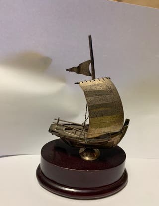 Barco de plata
