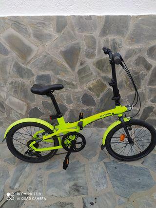 Bicicleta plegable TLIT 500