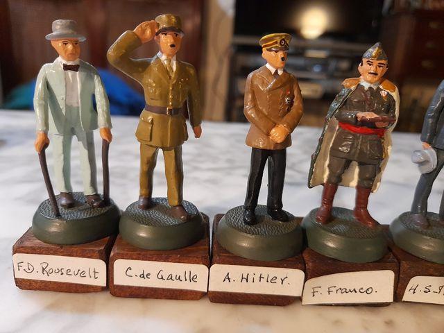 Soldados de plomo-jefes de estado