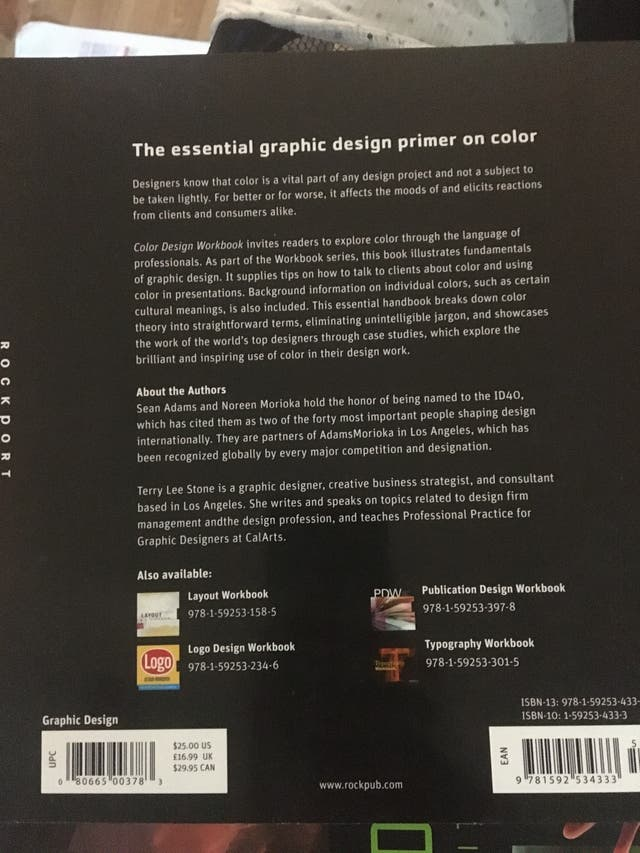 Graphic design book