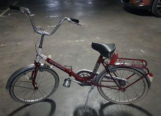 Bicicleta plegable antigua