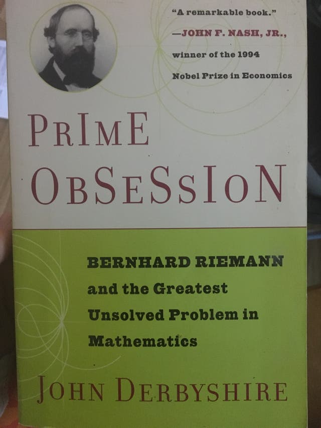Maths book - prime obsession