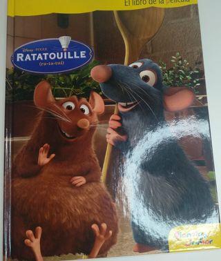 Ratatouille El libro de la película