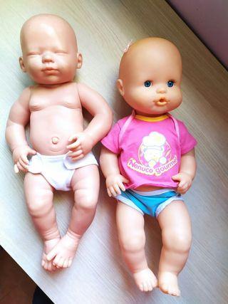 Bebes nenuco y recien nacido
