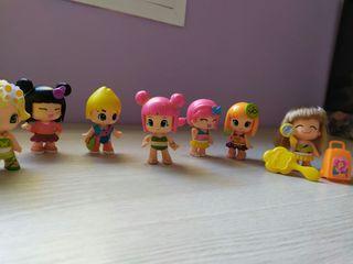 Lote muñecas pinypon