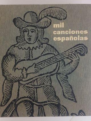 Mil canciones españolas