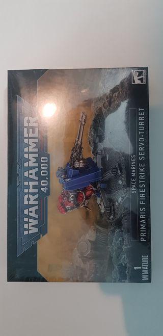 Primaris servotorreta firestrike, warhammer 40k