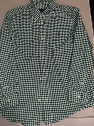 Camisa niño Ralph Lauren, talla 7