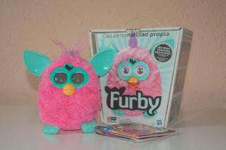 Juguete Furby rosa
