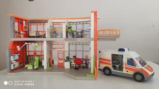 Playmobil Hospital Infantil + ambulancia