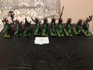 Lote Warhammer elfos oscuros ver fotos