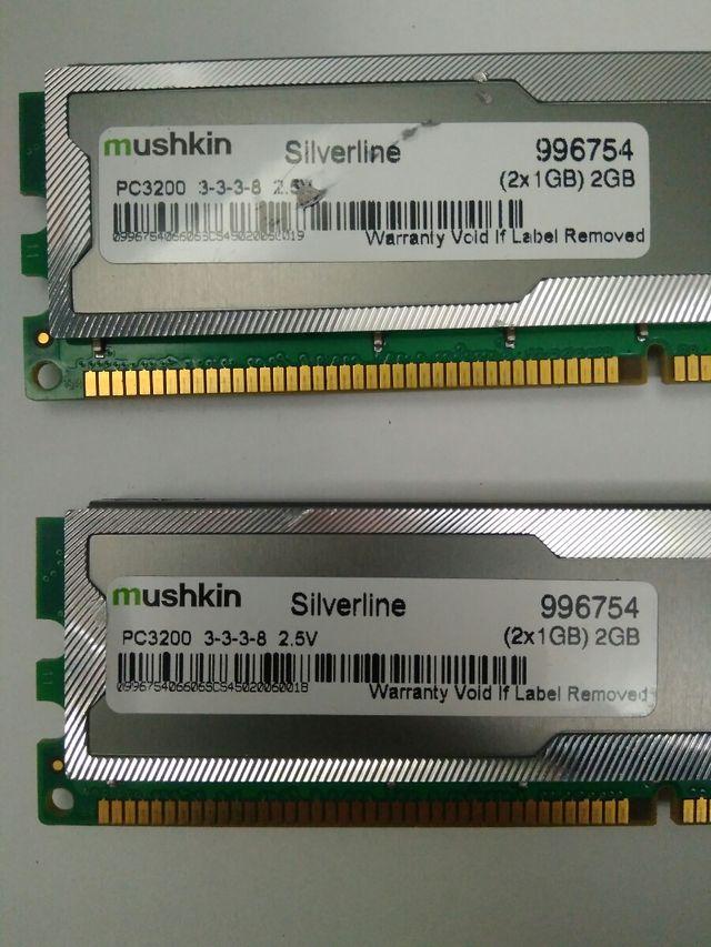 memoria RAM 4GB DDR1 PC 3200