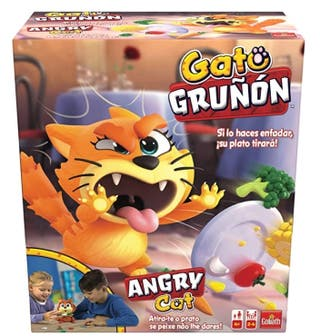 Gato Gruñón- Juego de Mesa para niños