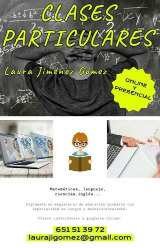 Clases individuales y grupales presencial/online