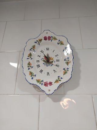 reloj cerámica