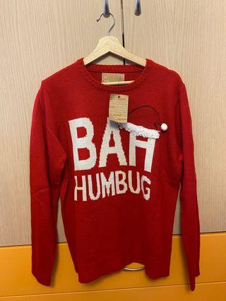 Jersey rojo navideño