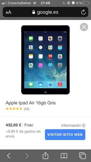 "iPad Air 9,7"" 16GB - WiFi - Plata"